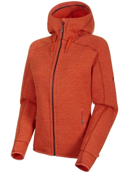 Mammut Arctic Hooded Ml Ski jas oranje