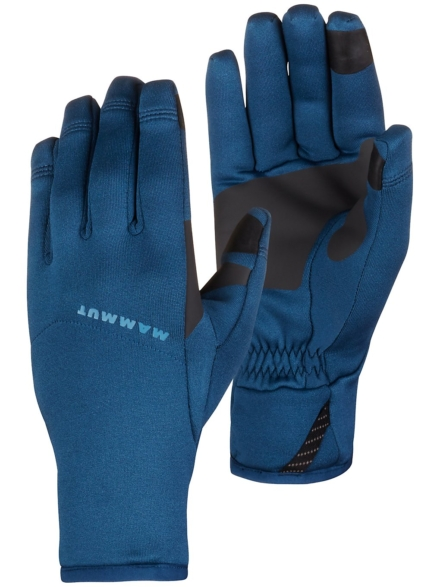 Mammut Fleece Pro handschoenen blauw