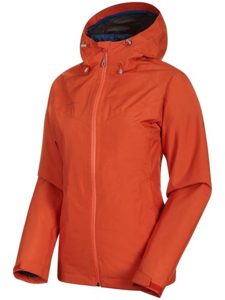 Mammut Convey 3 In 1 HS Hooded Ski jas oranje