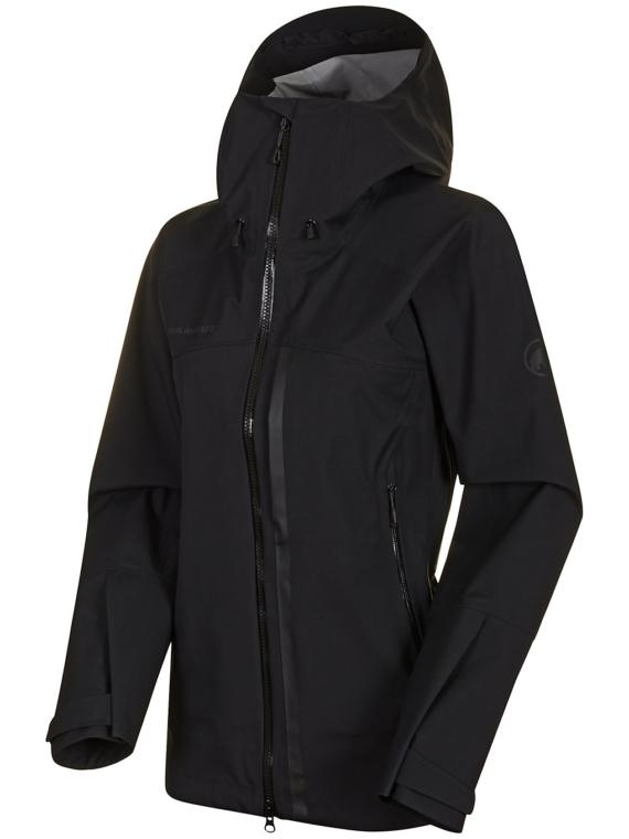 Mammut Masao HS Hooded Ski jas zwart