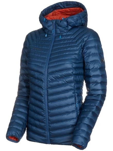 Mammut Convey In Hooded Ski jas blauw