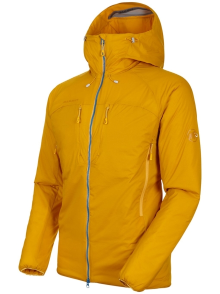 Mammut Rime In Flex Hooded Ski jas geel