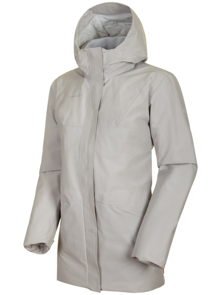 Mammut Chamuera HS Thermo Hooded Ski jas grijs