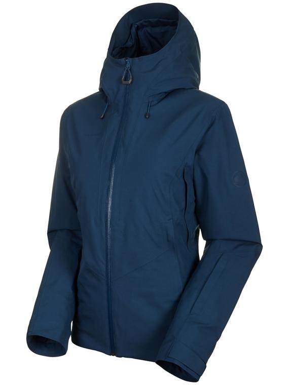 Mammut Casanna Hs Thermo Hooded Ski jas blauw