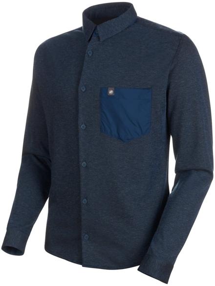 Mammut Yadkin Tech t-shirt met lange mouwen blauw