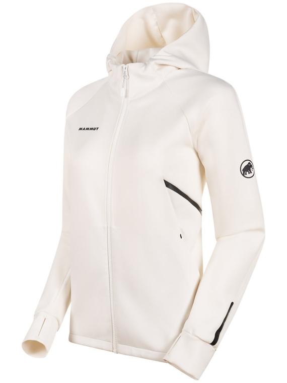 Mammut Avers ML Hooded Ski jas wit