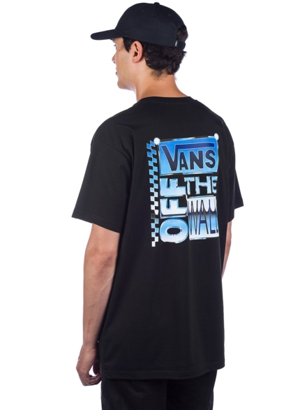 Vans AVE Chrome T-Shirt zwart