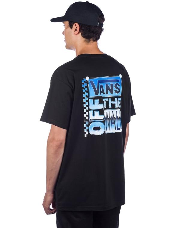 Vans AVE Chrome T-Shirt zwart