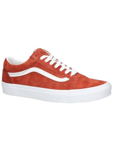 Vans Old Skool Pig Suede Sneakers oranje