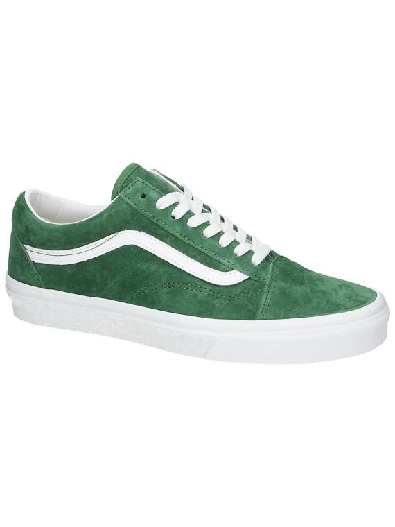 Vans Old Skool Pig Suede Sneakers groen