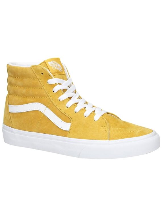 Vans Sk8-Hi Pig Suede Sneakers oranje