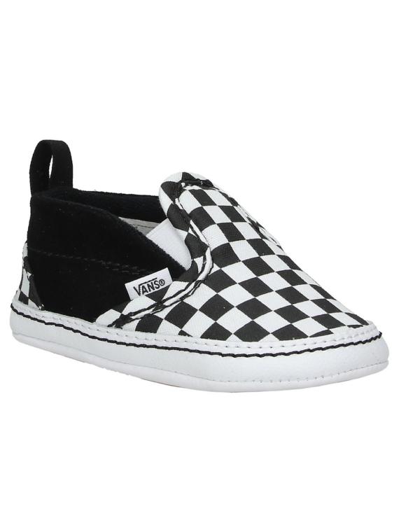 Vans V Crib Checkerboard Slip-Ons zwart