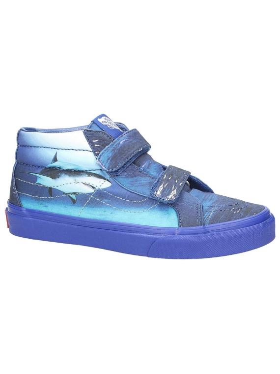 Vans Sk8Mid Reissue V Shark Week Sneakers blauw