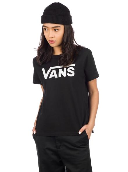 Vans Flying V Crew T-Shirt zwart