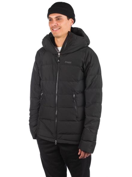Bergans Stranda Down Hybrid Ski jas zwart