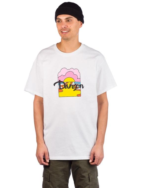Danson Moon river T-Shirt wit