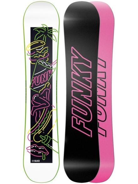 Funky Snowboards Slice 154 2020 patroon