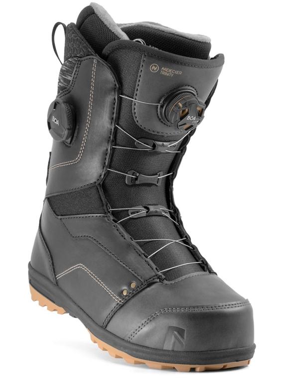 Nidecker Trinity Boa FCS Snowboard Boots 2021 zwart
