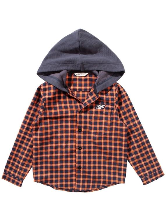 Munsterkids Huffle 3 Shirt oranje