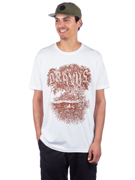 Dravus Winter Tree T-Shirt wit