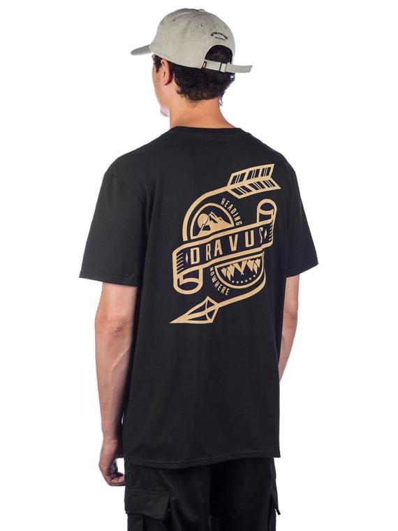 Dravus Break The Arrow T-Shirt zwart