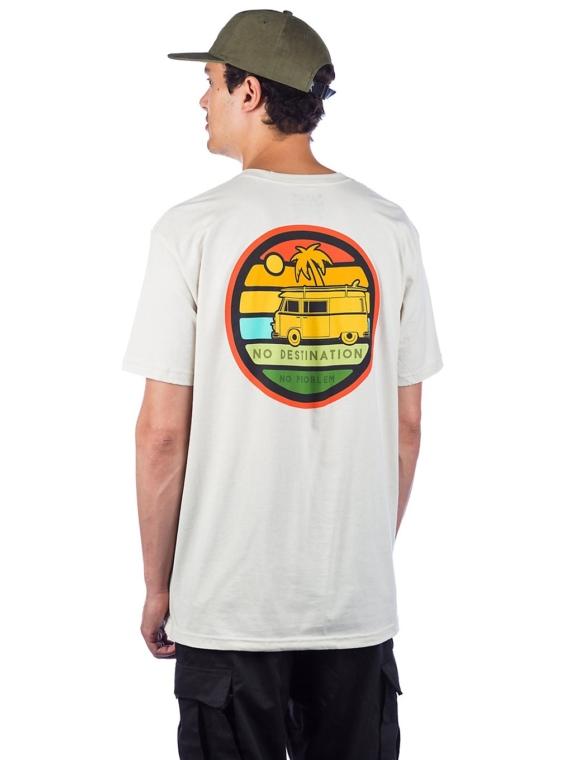 Dravus No Destinations T-Shirt bruin