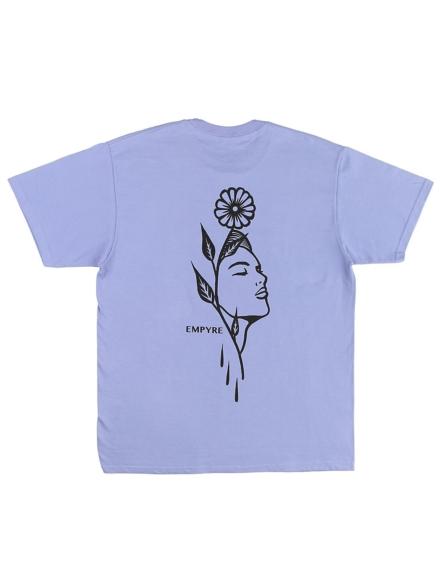Empyre Flora Revival T-Shirt paars