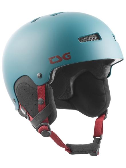 TSG Gravity Solid Color Skihelm grijs