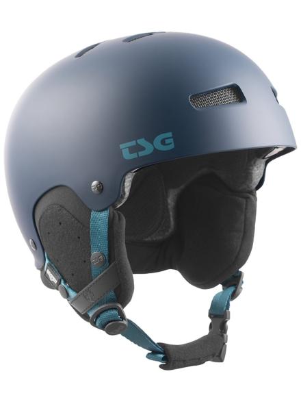 TSG Gravity Solid Color Skihelm blauw