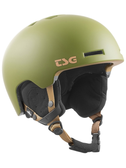 TSG Vertice Solid Color Skihelm groen
