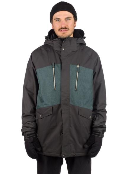 Light Lamb Ski jas zwart