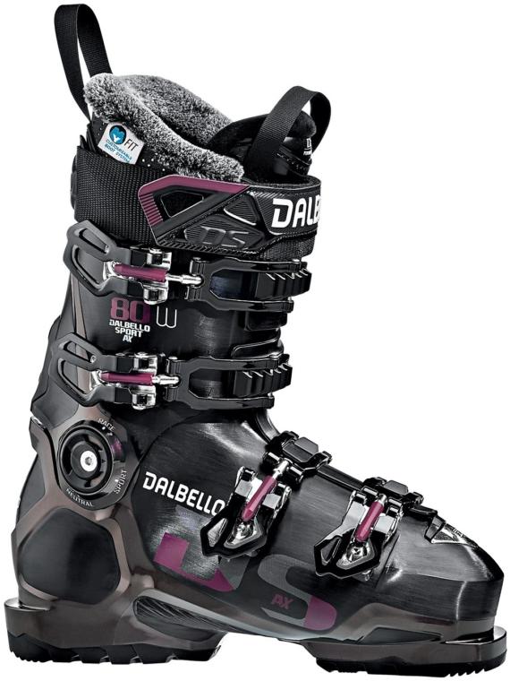 Dalbello DS AX 80 met lange mouwen 2020 zwart