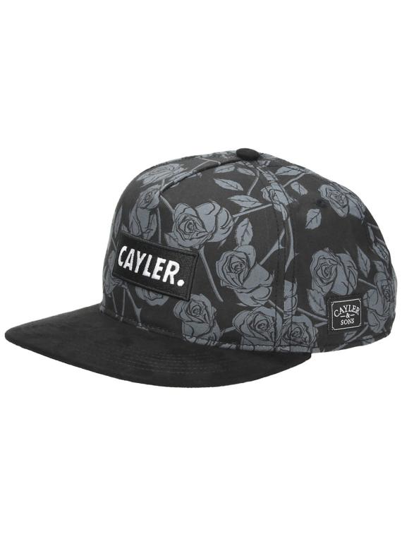 Cayler & Sons WL Statement zwart Roses Snapback petje zwart