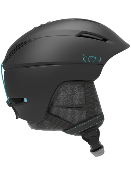 Salomon Icon2 Skihelm zwart