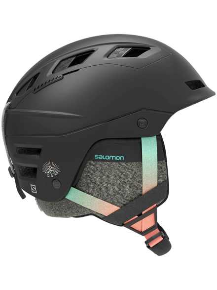 Salomon Qst Charge Skihelm zwart