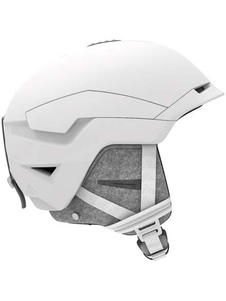 Salomon Quest Skihelm wit
