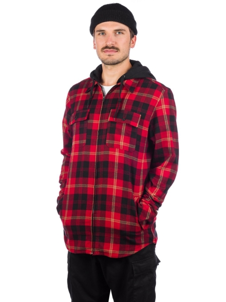 Empyre Chancer Flannel Shirt rood
