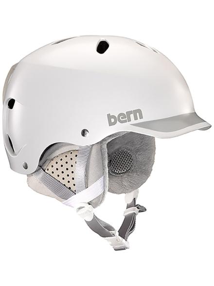 Bern Lenox Thinshell with Boa Skihelm wit