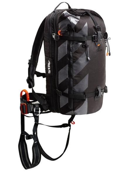 ABS S.petjee Base Unit + Zipon 10-14L rugtas zwart