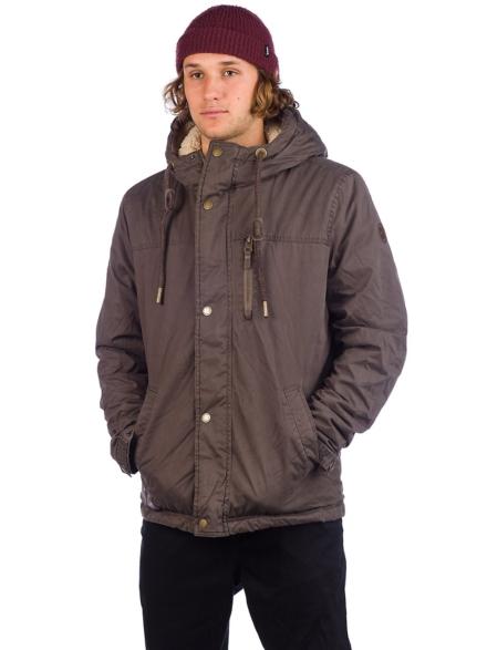 ragwear Mathy Ski jas bruin