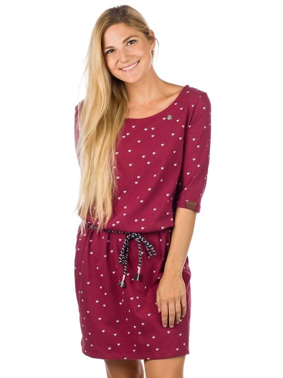 ragwear Tamy jurkje rood
