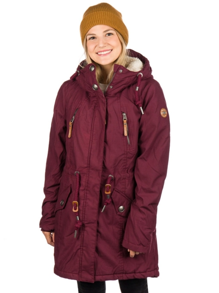 ragwear Elsie Ski jas rood