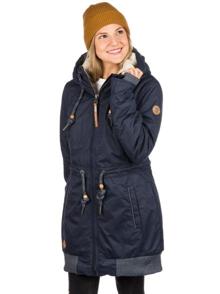 ragwear Zirrcon Ski jas blauw