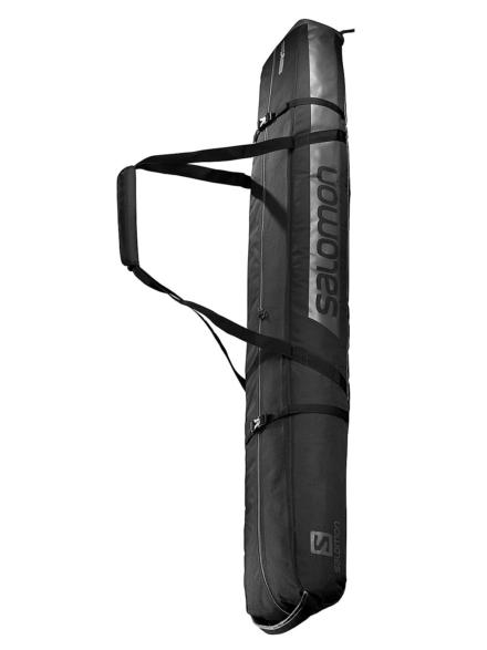 Salomon Extend 2Pairs 175+20 Ski tas zwart