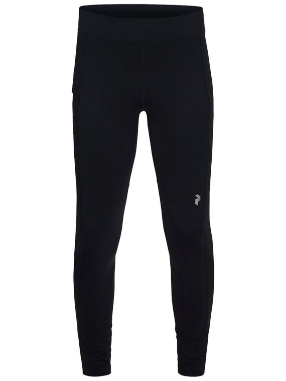 Peak Performance Run Tech broek zwart