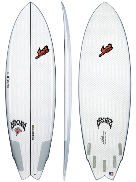Lib Tech X Lost Round Nose Fish 5'10 wit
