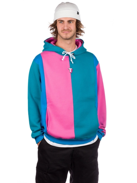 Teddy Fresh Color Blocked Love Hoodie patroon