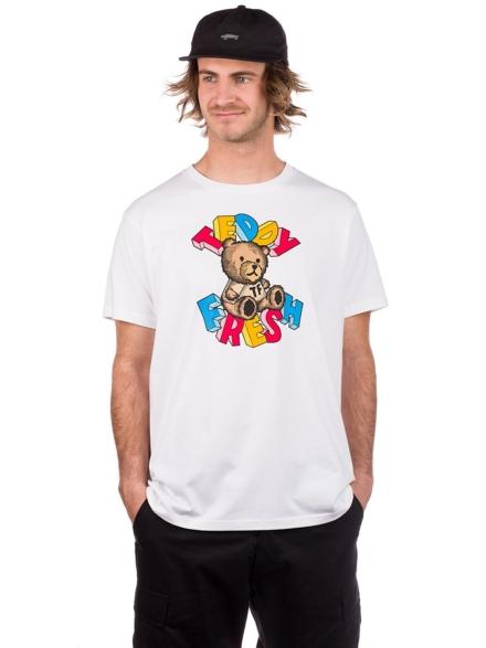 Teddy Fresh Teddy Blocks T-Shirt wit