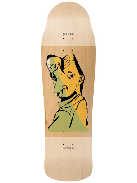 "Baker Riley Hawk Mind Bends 9.5"" Skate Deck patroon"