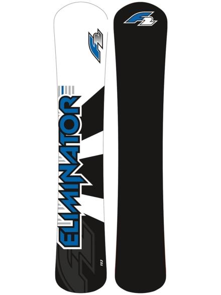 F2 Eliminator 166W Alpine Snowboard 2020 patroon